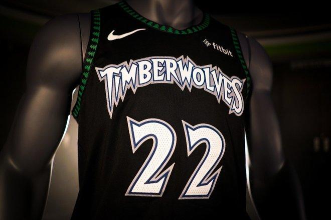 La 'nueva' camiseta de los Minnesota Timberwolves