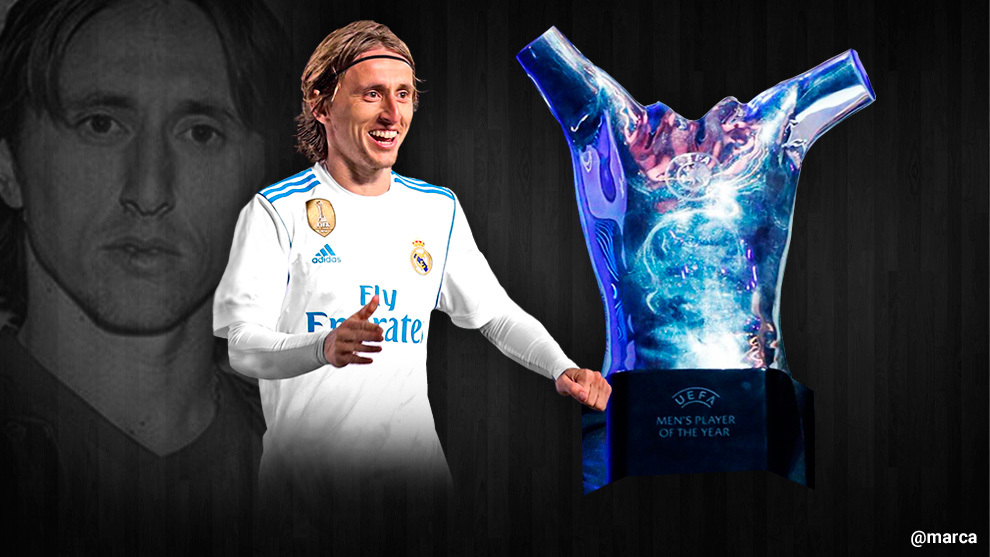 Luka Modric is elected UEFA's Best Player