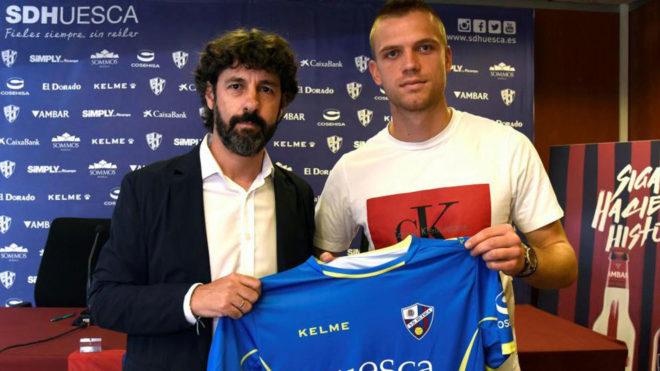 Jovanovic, con Emilio Vega