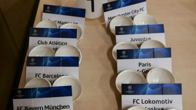 Sorteo de Champions: en directo, los rivales de la fase de grupos
