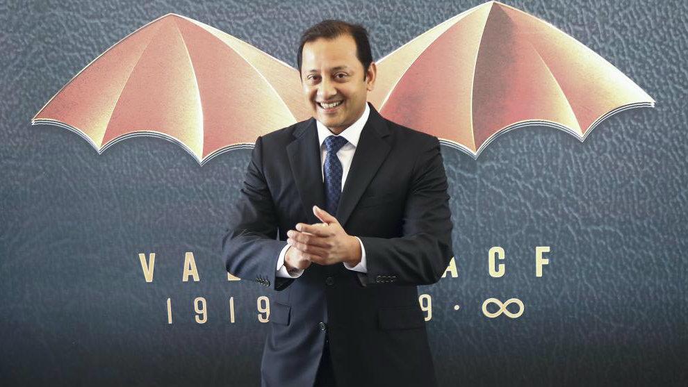 Anil Murthy, durante el acto de presentación del centenario del...