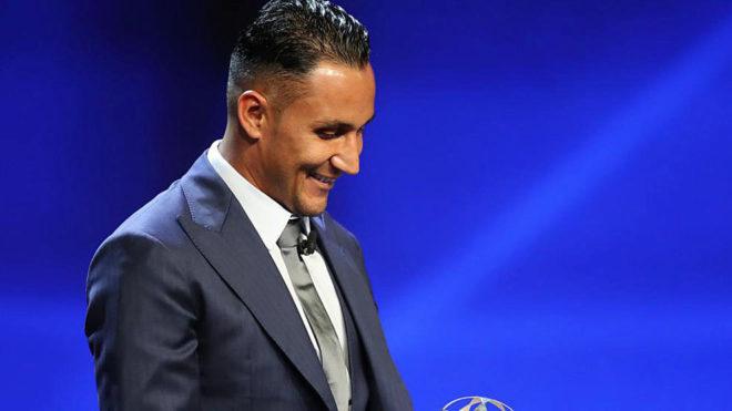 Navas is crowned UEFA's best goalkeeper of the season