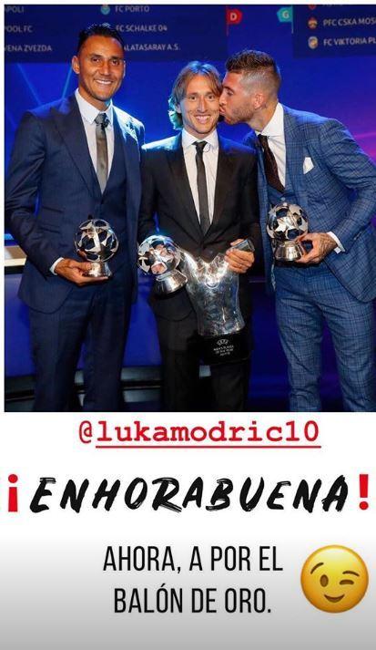 Luka Modric, UEFA player of the year 15356652284211