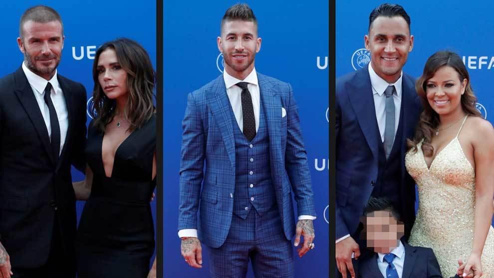 La mayoría de las estrellas del fútbol no se perdieron la Gala de la...