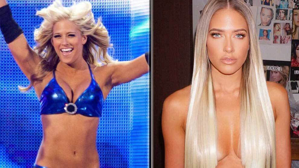 Former WWE star Kelly Kelly has become successful model Barbie Blank