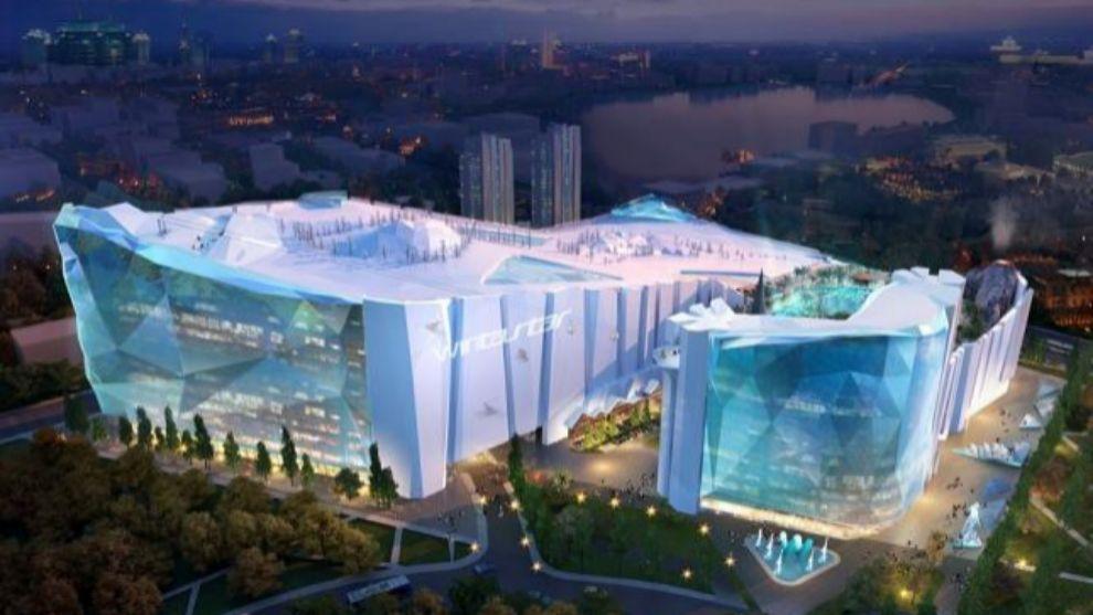 La estación indoor china será tres veces más grande que el Ski...