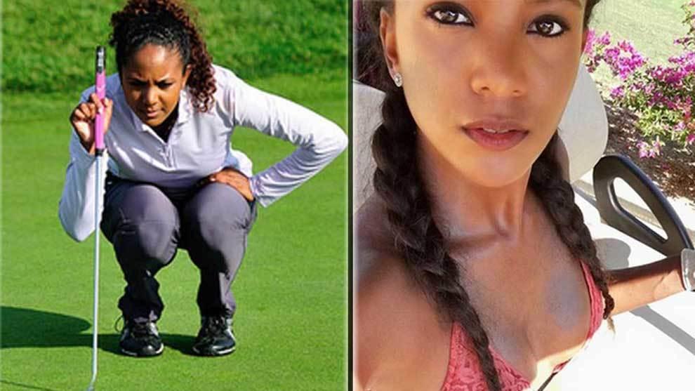 Miko Page se formó como golfista en Wagner College (NCAA) y ahora es...