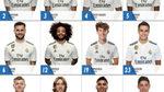 Novedades en los dorsales del Madrid: el '15' para Fede, Reguilón el '23'...