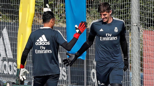 Real Madrid vs Leganes: And with the 25... Courtois