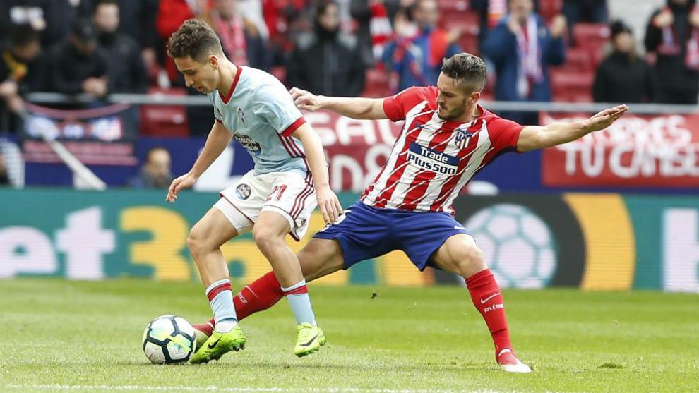 Celta - Atlético de Madrid en la temporada 2017-18