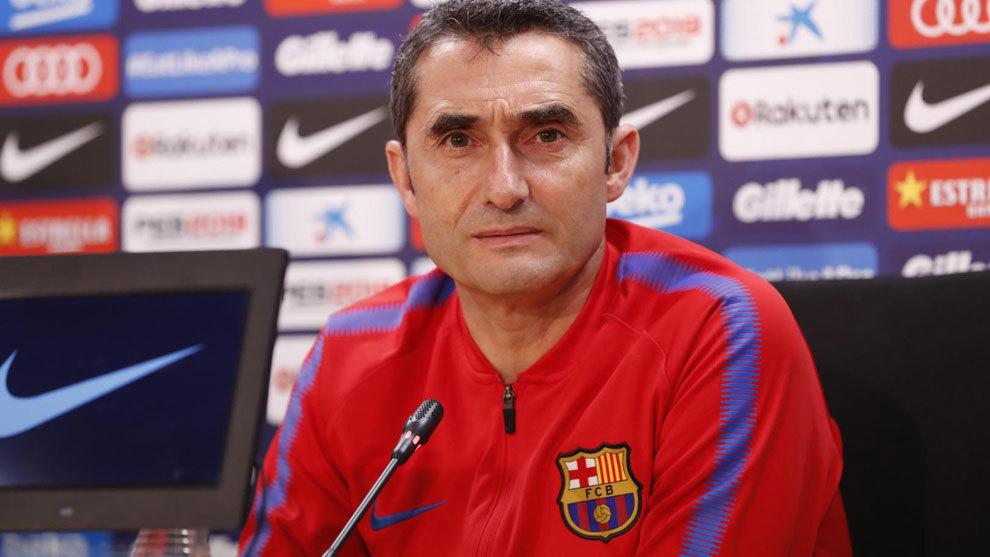 Los elogios de Ernesto Valverde a Arturo Vidal