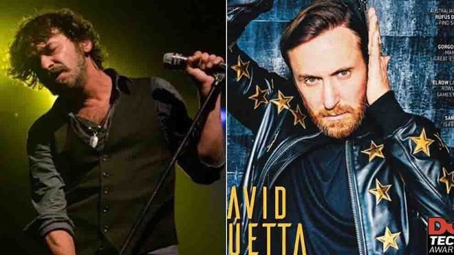 Quique González, contra David Guetta