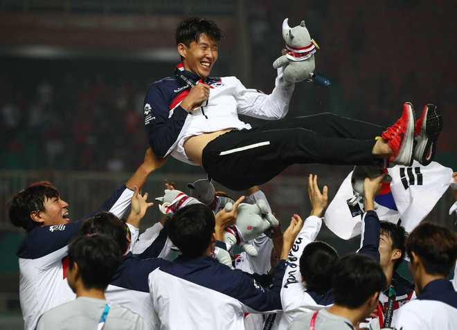 Corea celebra a Son.