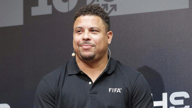 Ronaldo Nazario will officially become the new owner of Real...