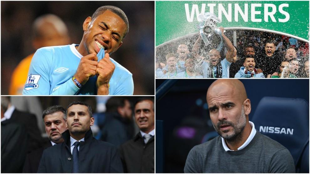 Robinho to Guardiola: Manchester City celebrate decade with the Abu...
