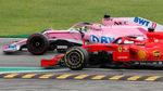 Checo Pérez remonta y termina octavo en Monza
