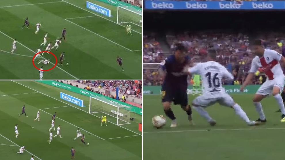 Messi sits Luisinho down