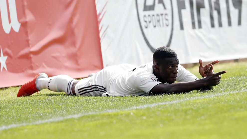 Real Madrid's Vinicius Jr. scores first two goals for reserve team