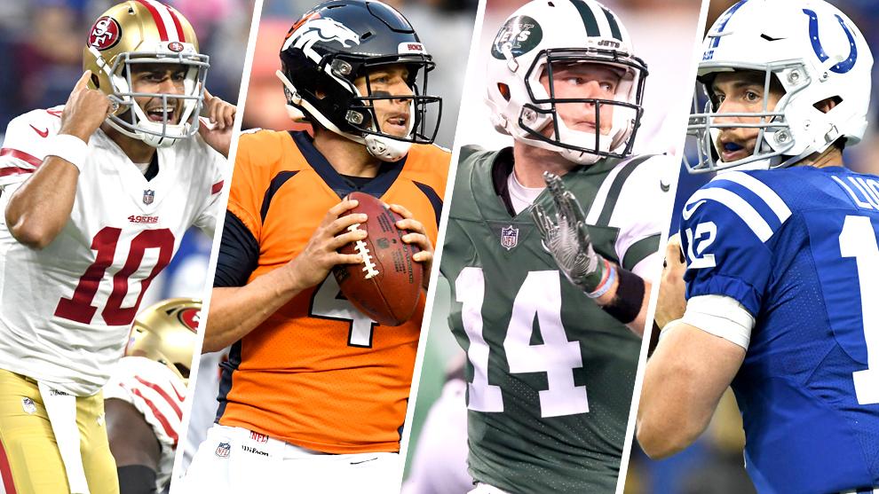 San Francisco, Denver, Jets e Indianapolis buscan olvidar el mal 2018...