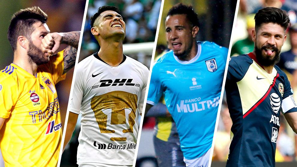 Tres mexicanos destacan en los primeros diez sitios.
