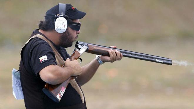 Alberto Fernández, en los Juegos de Río.