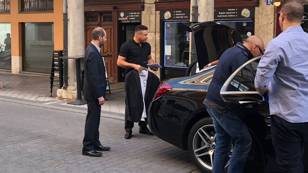 Ronaldo is already Valladolid's largest shareholder
