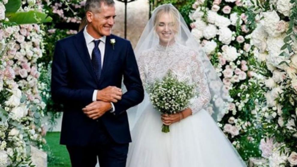La boda de Chiara Ferragni y Fedez
