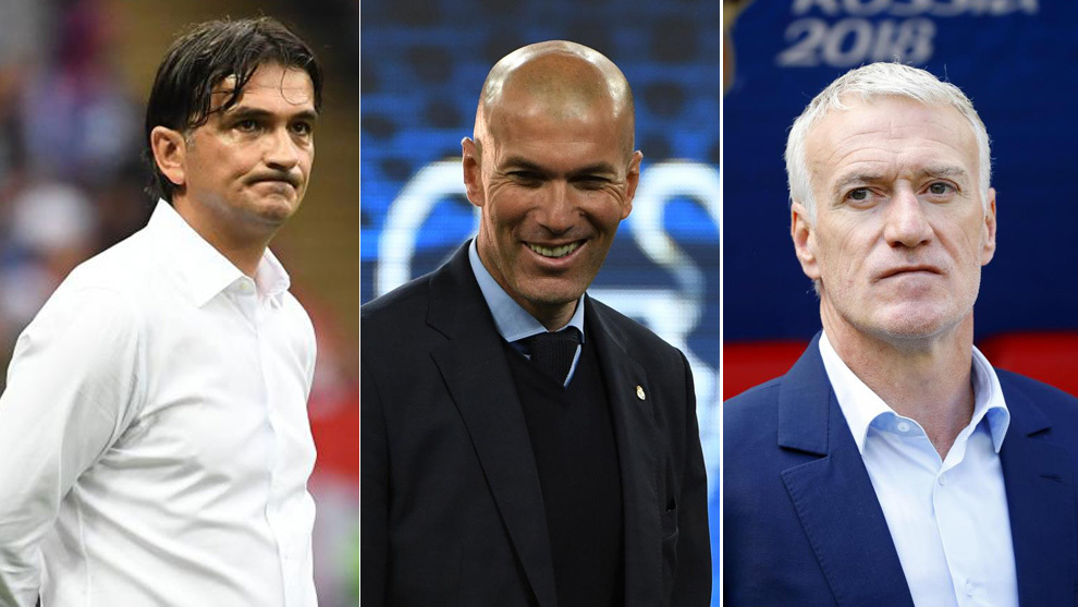 Zidane, Deschamps and Dalic finalists for FIFA's 'The Best' coach