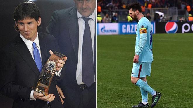Leo Messi, fuera de los finalistas al premio 'The Best'