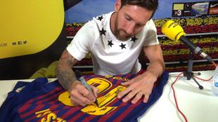 Messi, tras la entrevista