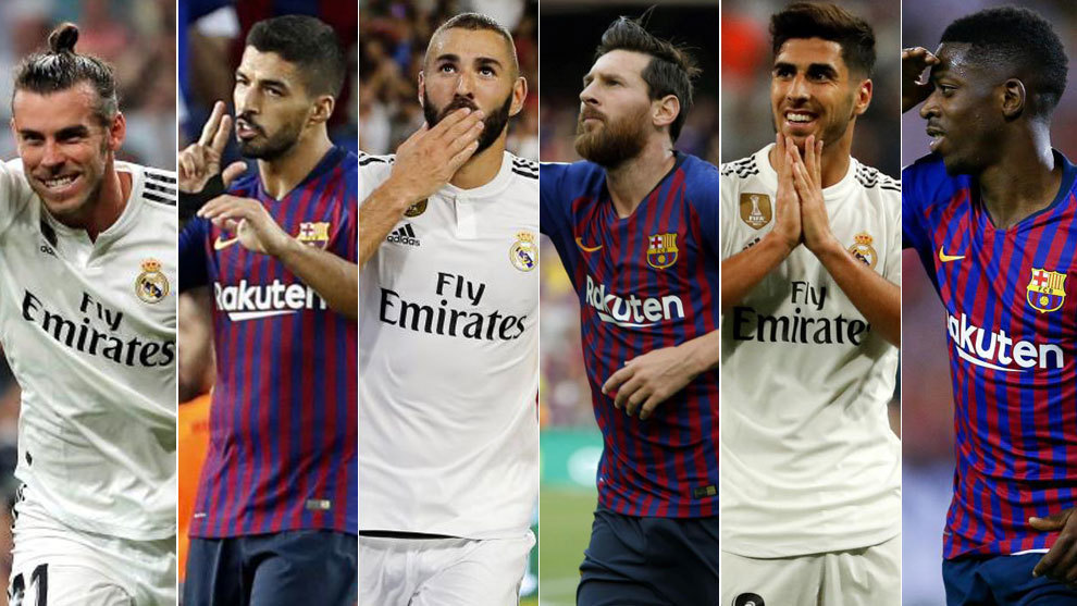 Barcelona and Real Madrid fine-tune their attacking trios: MSD 9 - 8...
