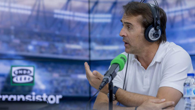 Lopetegui: I am delighted with my Real Madrid team