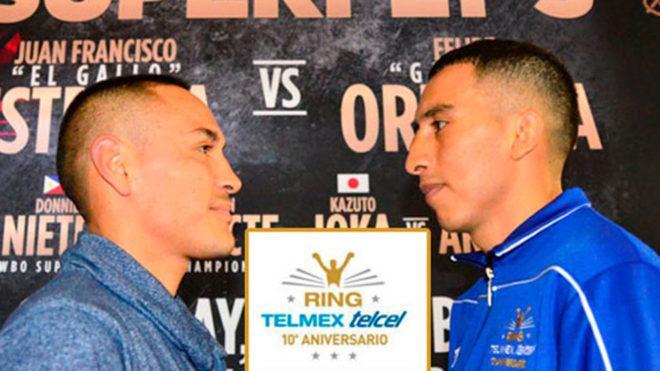 Duelo de boxeadores mexicanos que no han sido noqueados.
