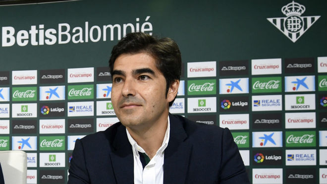Ángel Haro, en una rueda de prensa.