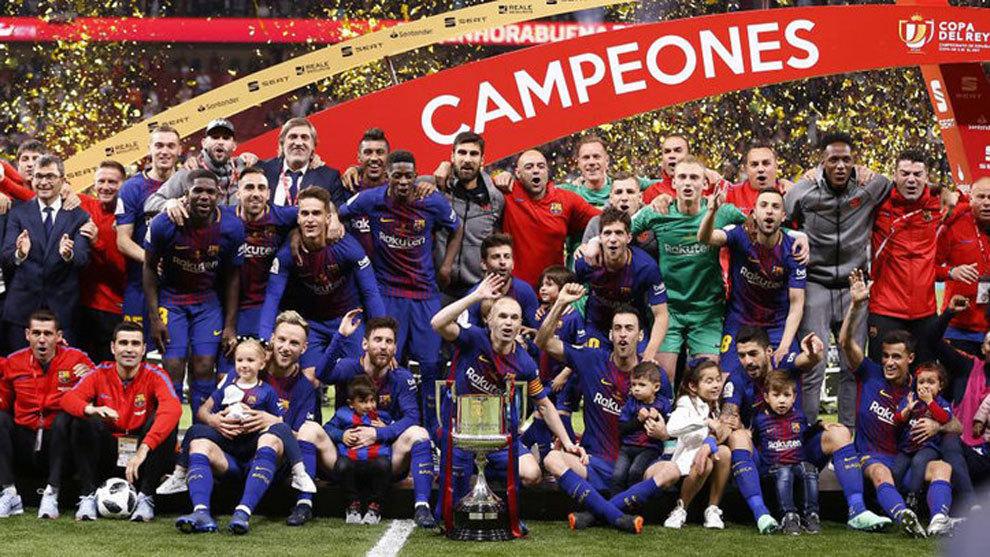 El Barcelona es el actual campeón de la Copa del Rey.