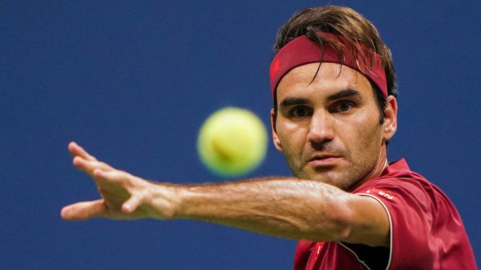 Roger Federer fue eliminado en octavos de final del US Open.
