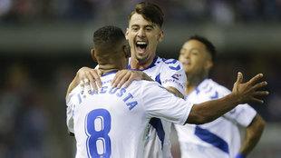 El Tenerife no pasa del empate en los últimos partidos.