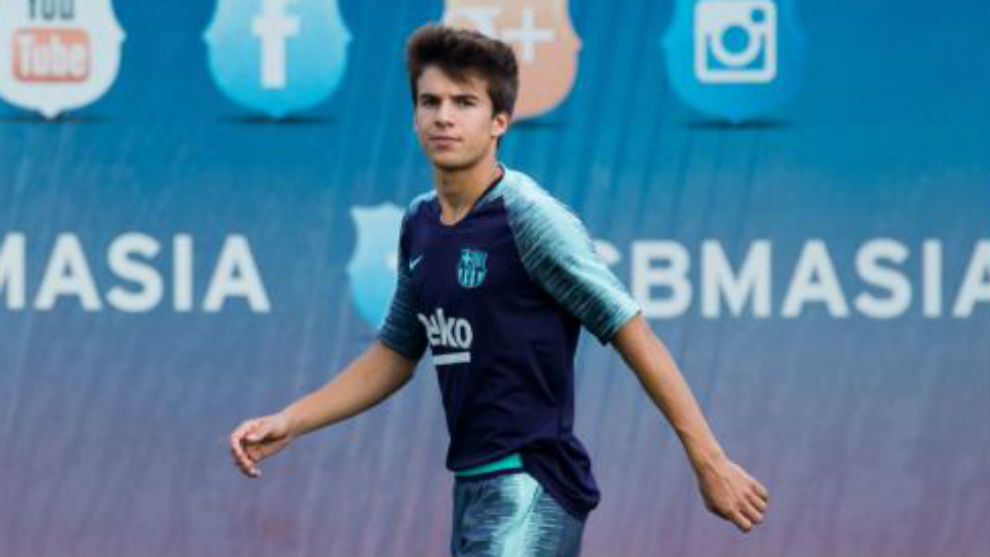 The talented 19-year-old Riqui Puig