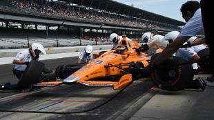 Fernando Alonso en la IndyCar