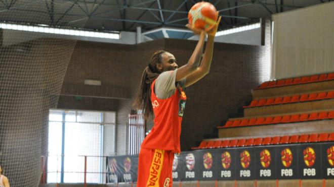 Astou Ndour ya está plenamente integrada en la dinámica de la...