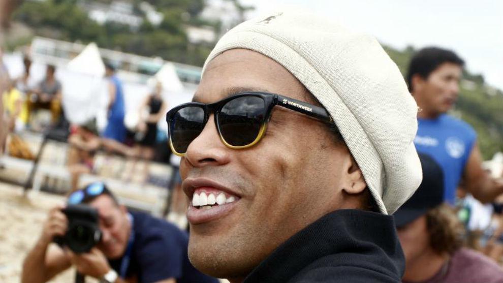 Former Barcelona player Ronaldinho