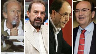 Petón, Ángel Torres, Querejeta y Castro.