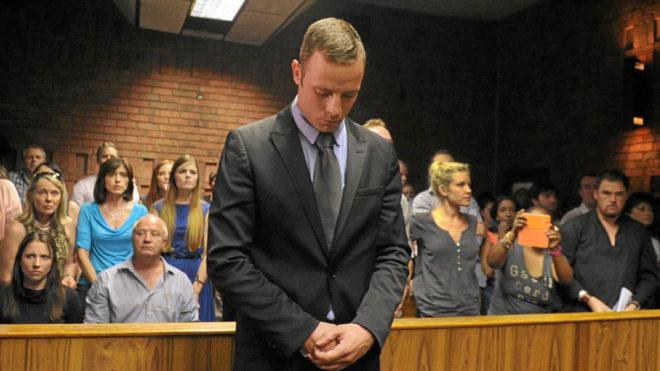 Óscar Pistorius, en la Corte de Pretoria (Sudáfrica)