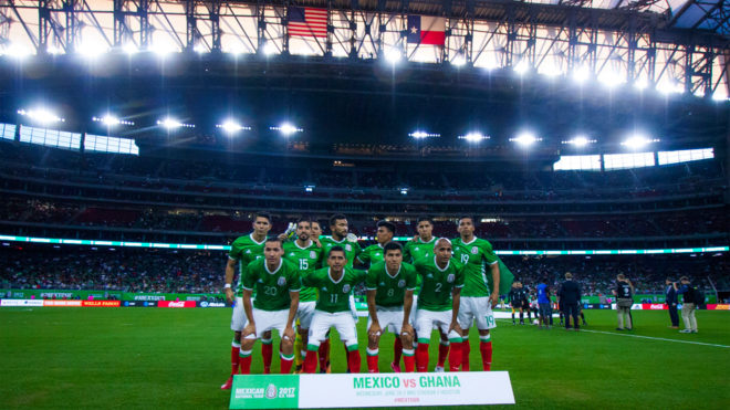Uruguay golea a México