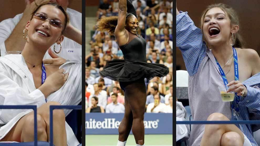 Serena Williams, que cambió el color de su diseño con tutú, ganó a...