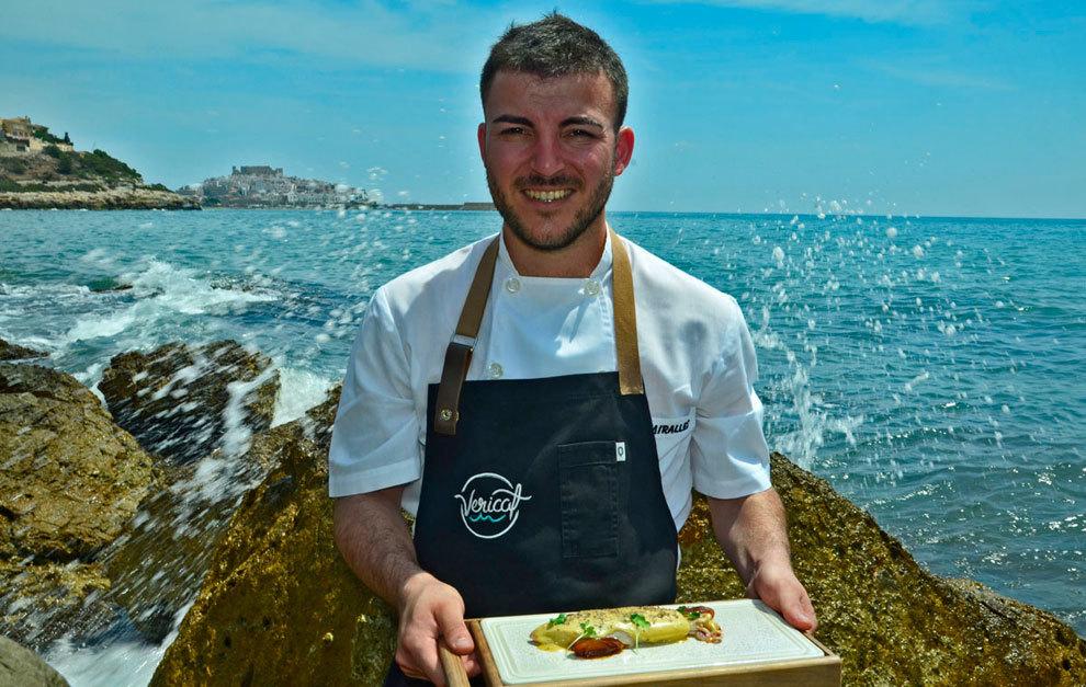 Carlos Miralles, chef del restaurante Vericat