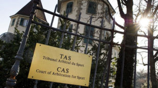 tribunal de Arbitraje Deportivo en Suiza (TAS).