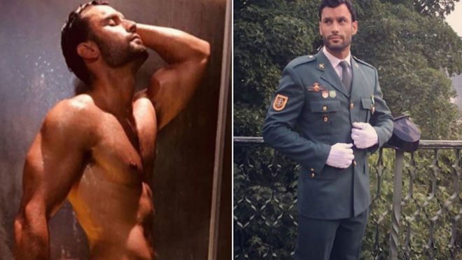 Jorge Pérez, el guardia civil más sexy del momento