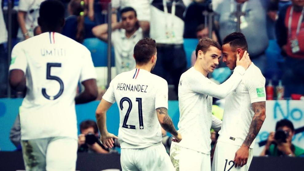 Griezmann es el delantero titular de Francia, selección con la que ha...