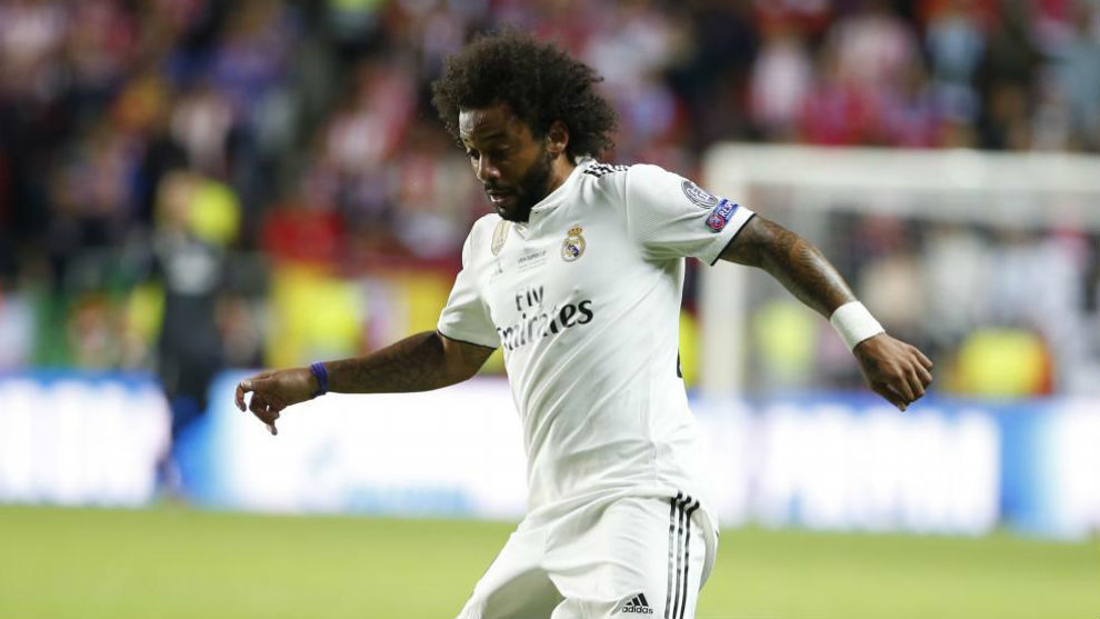 Real Madrid defender Marcelo